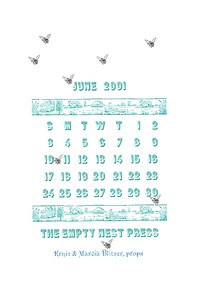 June, 2001, The Empty Nest Press