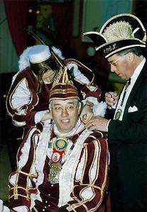 Prins Stan den Eerste met Chef Protocol Paul Geerling Sr.