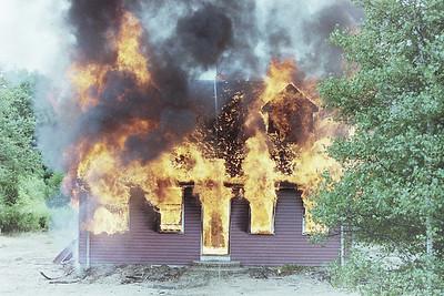 Live Burn Taunton Ma. Summer 2001