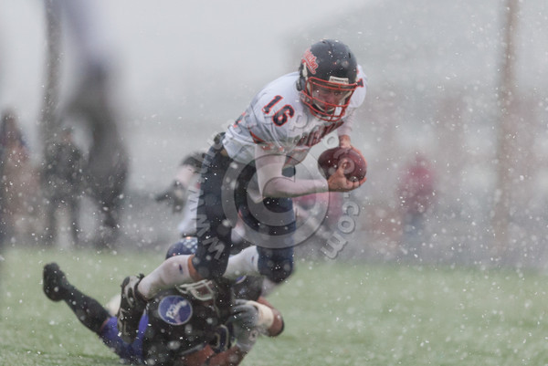 Wheaton College Football vs Mount Union/ NCAA Playoffs, Alliance, Ohio, November 30, 2002