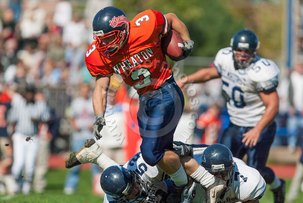 Wheaton College Football vs Elmhurst College, October 5, 2002