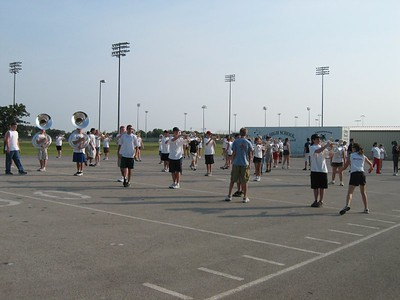 Incoming Freshman Marching Camp