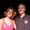 Larry with Karen Mason (Broadway singer in Mama Mia)