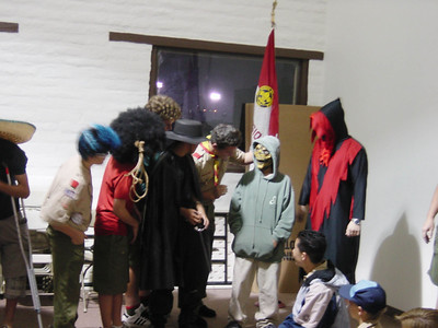 10/28/2002 - Halloween Troop Meeting