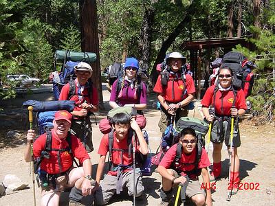 8/2/2002 - Trans Sierra Hike