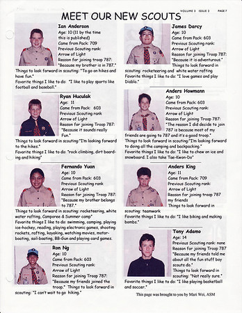February 2002 Troop Talk - Volume 3, Issue 2