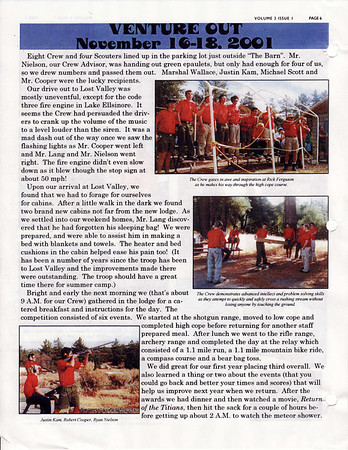 January 2002 Troop Talk - Volume 3, Issue 1