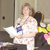 Thursday, July 11, 2002. Philadelphia, PA. Photos by Mike Levin.- Perspectives for the Differently-Abled- Marriott hotel,  Salon K & L. - Speaker Laura Rorem from Juneau, Alaska speaks about Mental Illness and brain disorders.