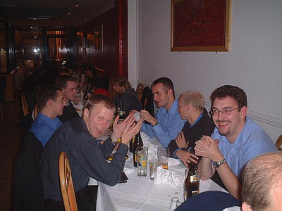 Grad Curry - Induction Week 2002
