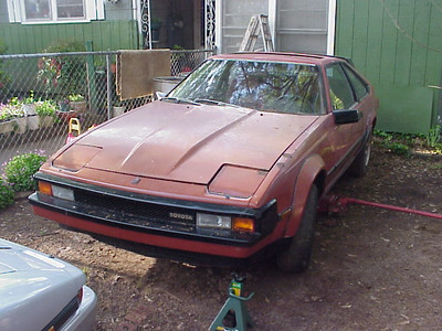 '83 - bad motor, good interior, bad exterior, good wheels