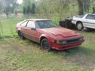 '84 - motor should run, good exterior, bad interior, bad wheels