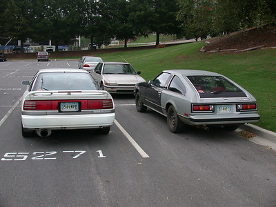 stumbled across a mk1 supra in the parking lot