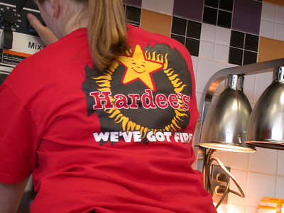 and hardees moves into the 23rd century BC