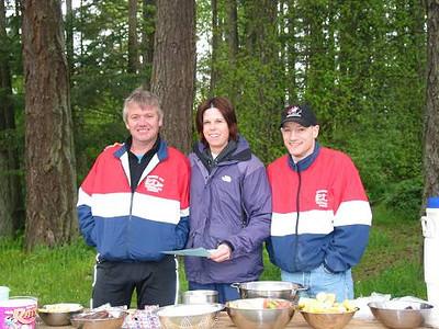 2002 Elk/Beaver Ultras - Randy Jones, Sandi Begg and Mike Stone