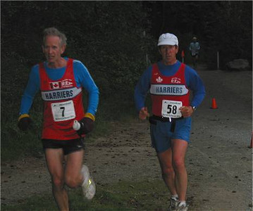 2002 Elk/Beaver Ultras - Rob Grant and Kevin Jones finish their first lap