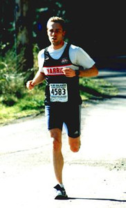 2002 Hatley Castle 8K - Good form and good effort from Rumon Carter