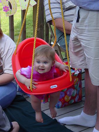 2002 - June Jelayne's 1st Birthday