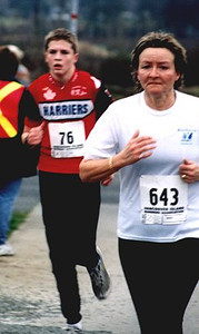 2002 Pioneer 8K - Logan Wakefield faces the climb to the finish