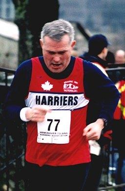 2002 Pioneer 8K - Bernie Zorn checks out his racewalking technique