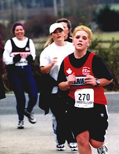 2002 Pioneer 8K - Alana Jones at the front, Susan Dack at the back