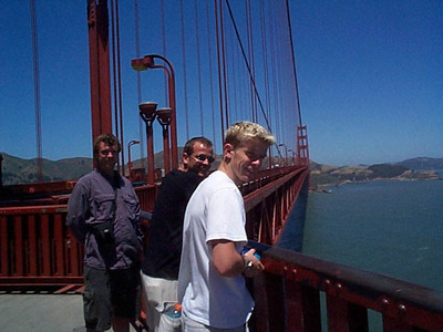2002 San Francisco with Erekson Boys