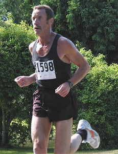 2002 Sidney Days 5K - Neil Kemp - 1st M50 by four seconds over John Edwards