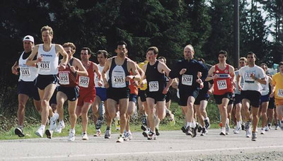 2002 Sooke River 10K - The Start