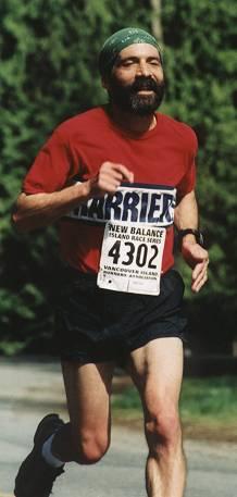 2002 Sooke River 10K - Ultramarathoner Carlos Castillo