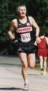 2002 Sooke River 10K - Dr. A. keeps getting faster