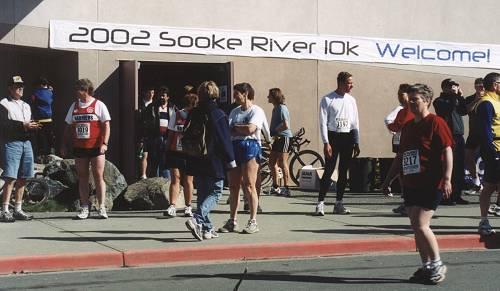 2002 Sooke River 10K - Welcome