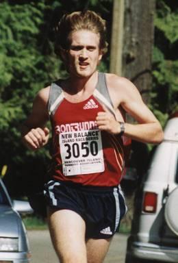 2002 Sooke River 10K - Steve Osaduik wins yet again