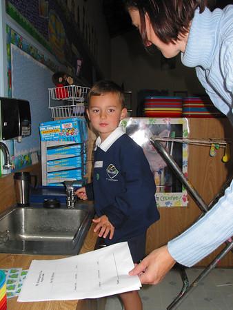 Adam Starts Kindergarten