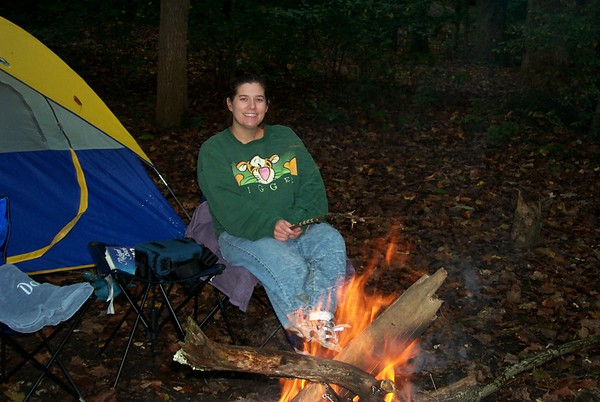 Album 2002 10 October First Camping Trip