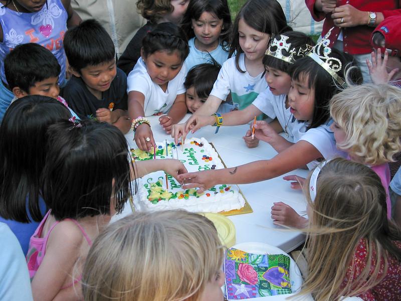 Guiliano's birthday cake