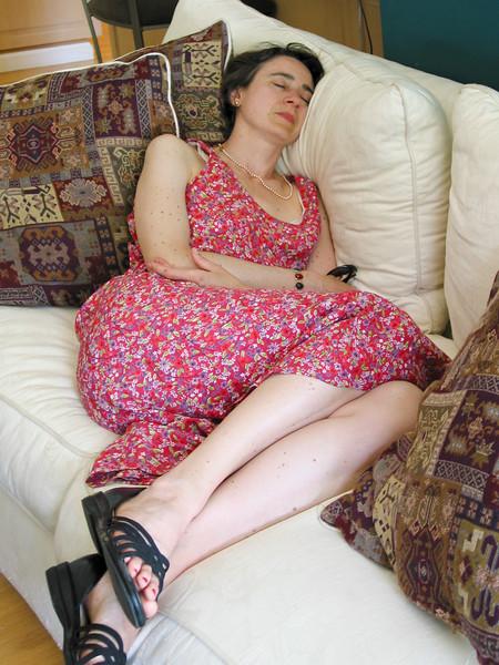 Chantal resting