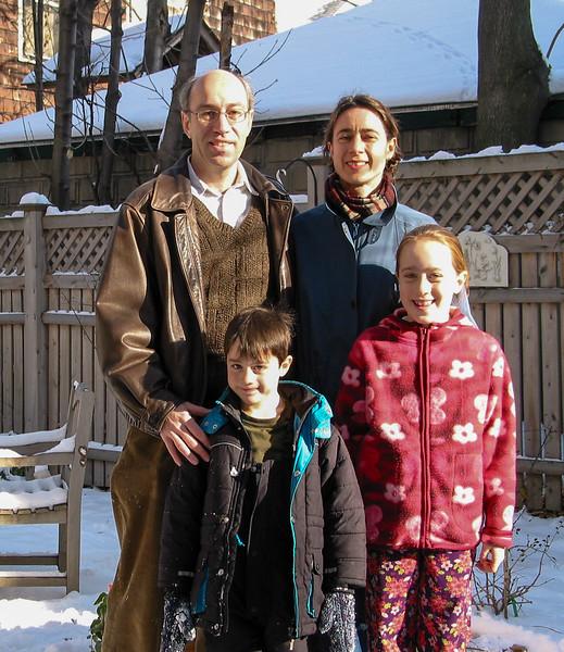 Richard, Chantal, Benjamin and Isabel