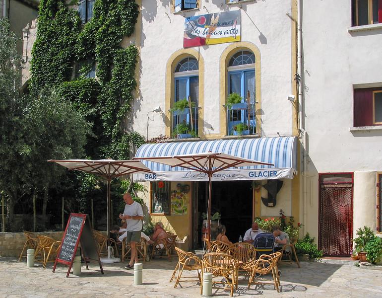 A little bar/restaurant