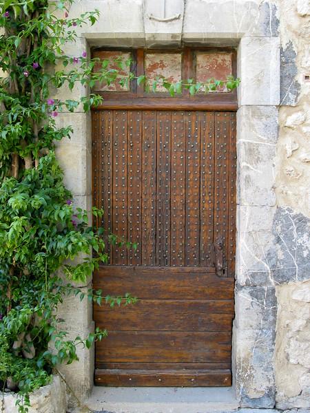 Studded door