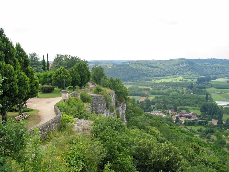 Cliff-top park