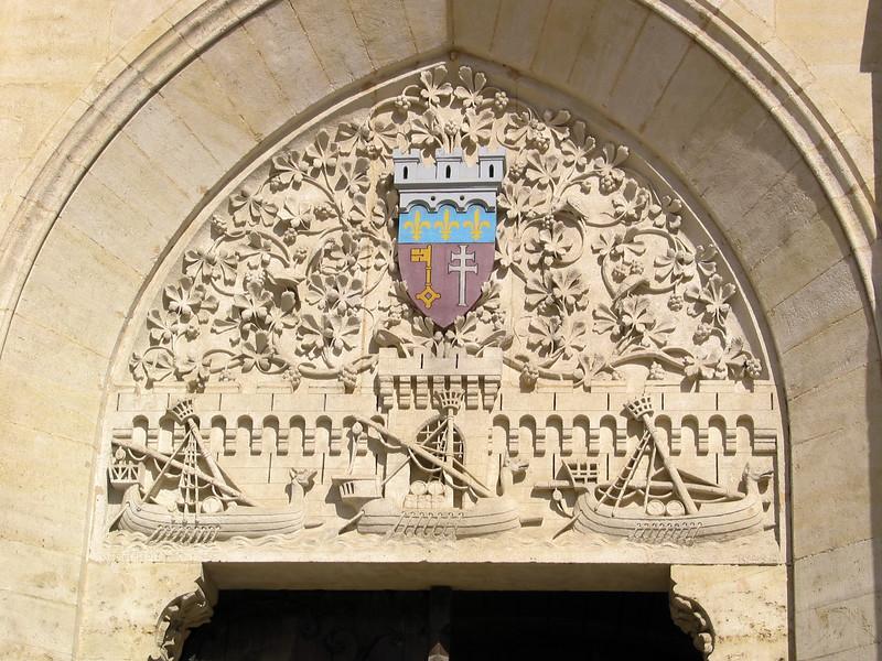 Newly-carved doorway