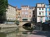 Street-bridge over Canale de la Robine