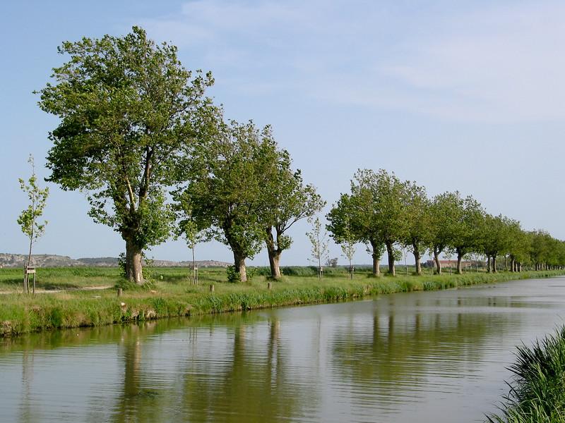 Canale de la Robine, in the countryside