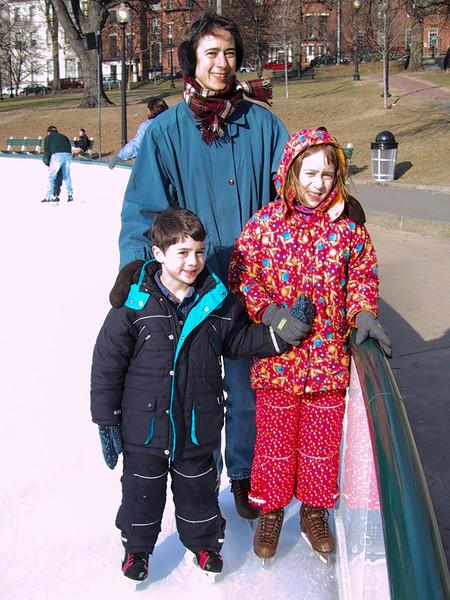 Benjamin, Chantal, and Isabel
