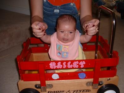 July 10 - Hailey Gets Her Radio Flyer