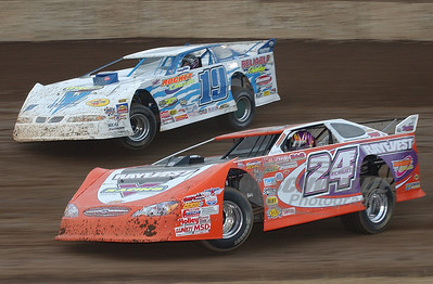 #24 Rick Eckert #19J Davey Johnson