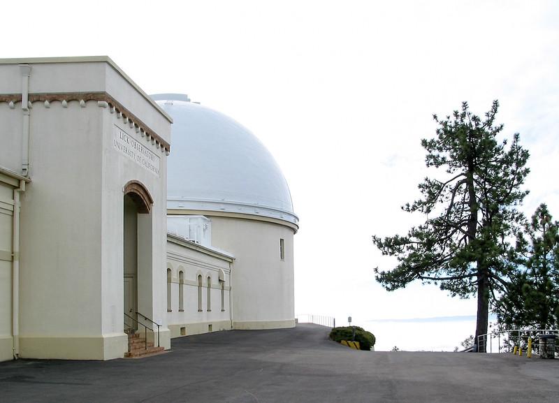 The Lick dome