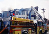 Newark 2-11-02 : Newark 2nd alarm + at S. 10th St. and Avon Ave. on 2-11-02.  Photos by Chris Tompkins