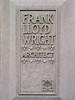 Frank Lloyd Wright, Architect