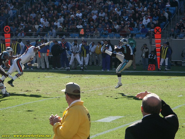 Panthers vs. Bears December 22nd 2002