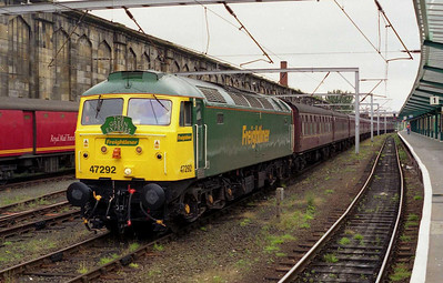 """""""We've got a '47' on Saturday, Andrew - are you interested?"""" Out of the blue I'd received a phone call at work earlier that week from my old friend Nick Harvey. """"From EWS?"""" I asked, aware of some recent history between them and the chaps at Carnforth, which had resulted in the use of Fragonset '31s' on most of his recent trains. """"No, somebody called 'Freightliner' - is that good?"""" he replied. There followed a short pause whilst I considered the impending scenario... """"Can I bring a few friends?"""" I asked. """"About 40?"""""""